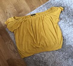 Oker Terranova bluzica spustena ramena