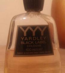 Men's Yardley Black Label cologne, 100ml
