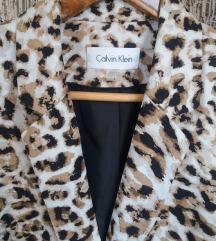 Calvin Klein leopard sako novo