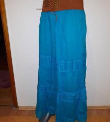 Suknja od pamuka, veoma prijatna