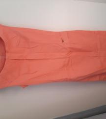 Haljina boje breskve