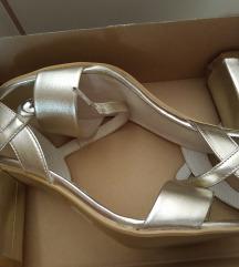Kozne sandale,39, novo,sa etiketom,25,5