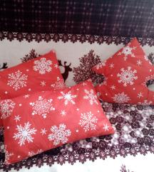 Set novogodisnjih jastuka