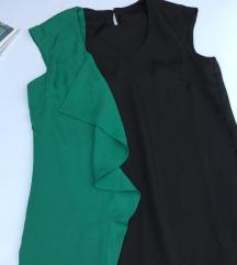 Nova haljina crno zelena