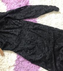 Čipkana haljina na jedno rame