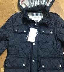 NOVO Burberry postavljena jakna
