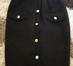Crna suknjica kao NOVA