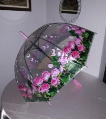 Kišobran sa cvetovima...