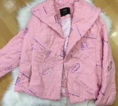 Italijanska pink/roze zenska jakna