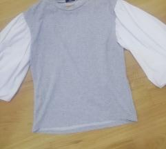 Majica sa predimenzioniranim puff rukavima *nova*