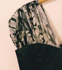 AMC svečana crna haljina