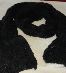 Zara knit oversize sal sive boje