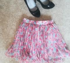 Suknja,pink.