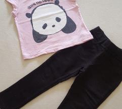 H&M Pantalone + majica set /2-3GOD ❤️
