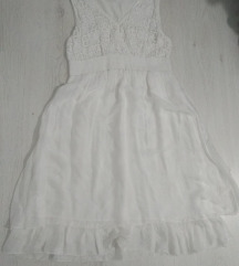 Italijanska bela letnja haljina SNIZENO 750