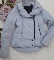 Siva zimska jakna vel. L - kao nova