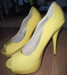 Žute visoke štikle 💛