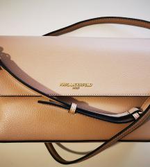 Karl Lagerfeld original torba bež NOVO