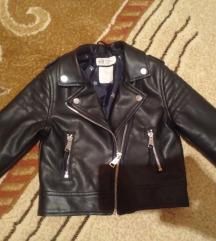 H&M kozna jaknica vel 98-104