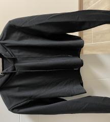 Crna kratka dukserica