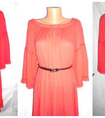 crvena haljina iz Svedske novo XL