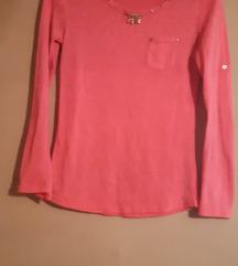 Drecavo roza majica