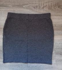 Siva mini suknja ✨