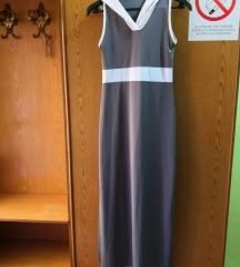 Duga haljina sa kapuljacom