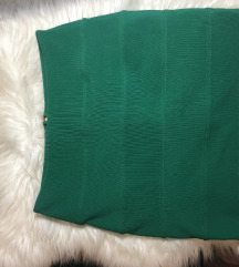 zelena suknica top shop