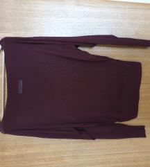 Zara bordo knit