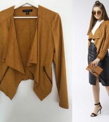 Amisu trendi zenska senf jaknica