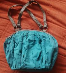 Odlicna tirkizna torba