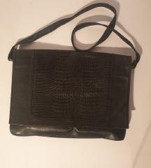 Crna kozna torba 🐊