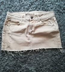 ZARA mini suknja br. 38