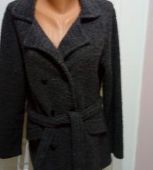 Ženski kardigan / jakna u sivoj boji XL