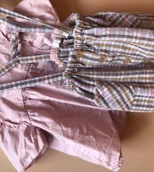 Komplet suknjica i kosuljica