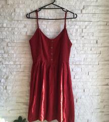 Prelepa crvena haljinica SADA 900