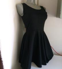 Justwear crna haljinica S