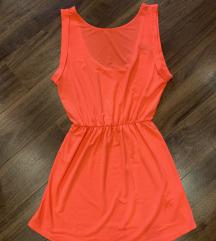 Koralna haljina H&M