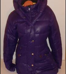 ETIREL ljubicasta perjana jakna