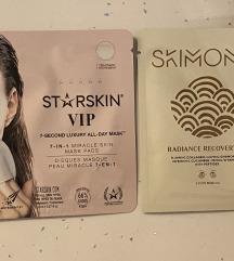Starskin 7-in-1 mask pad & Skimono Eye Mask