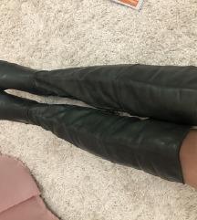 Cizme zelene do kolena KOZA