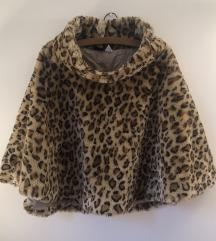 Teddy pelerina leopard print