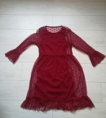 Romanticna dvodelna haljina kao nova m/l