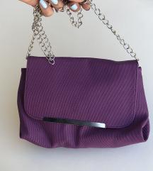 Zenska ljubicasta torbica