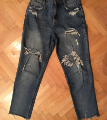 Zara mom jeans farmerke