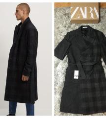 Zara Premium Vuneni Kaput