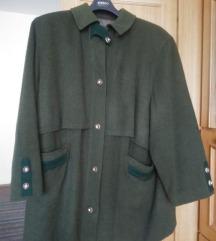 Zeleni Zimski Kaput 3XL 💚