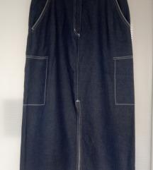 Džins suknja Clockhouse