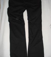 Crne svečane Jagger pantalone
